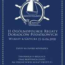 Ostatnie wolne miejsca!!! - II Ogólnopolskie Regaty Doradców Podatkowych